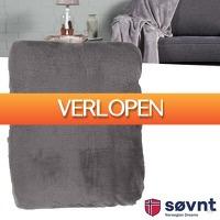 Wilpe.com - Home & Living: Sovnt Woondeken flanel fleece grijs