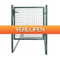 VidaXL.nl: Enkele tuinpoort hekwerk