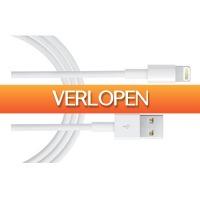 MargeDeals.nl: 2 x Lightning USB kabel