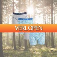 Kiesjekoopje.nl: Vinnie-G boxershorts Blue Sky Light