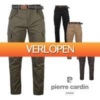 CheckDieDeal.nl: Pierre Cardin Cargo Broek, Heren broeken, met riem