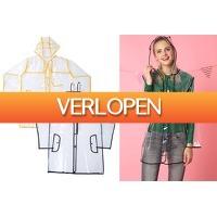 VoucherVandaag.nl 2: Transparante regenjas