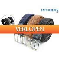 iBOOD Sports & Fashion: 3 x Safekeepers elastische riem