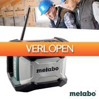 Wilpe.com - Tools: Metabo li-ion accu bouwradio
