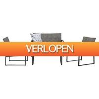 Leenbakker.nl: Loungeset Calpe - 4-delig