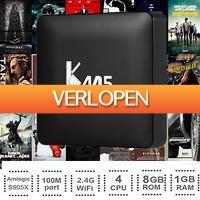 Uitbieden.nl 2: 4K Ultra HD KM5 Quad Core mediaspeler