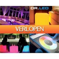 1DayFly Outdoor: Kleurrijke LED kubussen