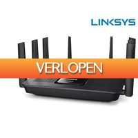 iBOOD.com: Linksys Max-Stream AC MU-MIMO Gigabit triband router