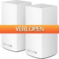 Alternate.nl: 2-pack Linksys VELOP Junior AC2400 router