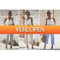 VoucherVandaag.nl 2: Striped highwaist pants