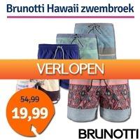 1dagactie.nl: Brunotti Hawaii zwembroek