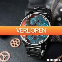 Watch2day.nl: Diesel Mr. Daddy XL Chronographs