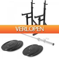 Befit2day.nl: Multi Squat Rack 46 kg set (50 mm)
