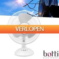 Wilpe.com - Home & Living: Botti Electronic tafel ventilator