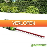 Wilpe.com - Outdoor: Greenworks accu heggenschaar