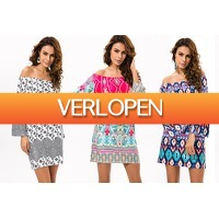 VoucherVandaag.nl 2: Off the shoulder jurk