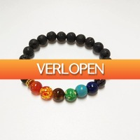 CheckDieDeal.nl: Lithotherapie, Chakra armband, sieraad met edelstenen