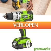 Wilpe.com - Tools: Greenworks Accu Schroef-Boormachine 24 Volt Digipro