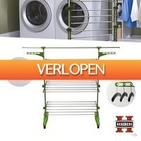 Wilpe.com - Home & Living: Herzberg Opvouwbare Droogrek Multifunctionele HG-5015