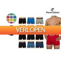 iBOOD Sports & Fashion: 12-Pack Pierre Calvini katoenen boxershorts