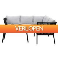 Leenbakker.nl: Le Sud loungeset Viviers - 3-delig