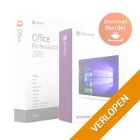 Veiling: Microsoft Office Professional Plus 2016 + Windows 10 Professional (downloaden)