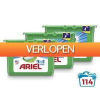 Voordeelvanger.nl: Ariel 3-In-1 Alpine pods