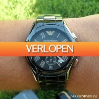 Watch2Day.nl 2: Emporio Armani Ceramica Chronograph Sale