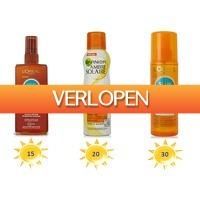DealDonkey.com 2: 3-pack zonnebrand van A-merken