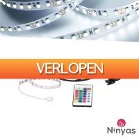 Wilpe.com - Elektra: Ninyas LED-strip RGB 3M met afstandsbediening