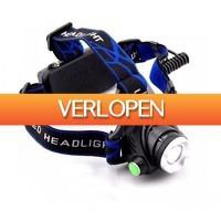 Koopjedeal.nl 1: Krachtige oplaadbare LED-hoofdlamp