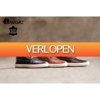 Marktplaats Aanbieding: NoGRZ casual lederen herensneakers