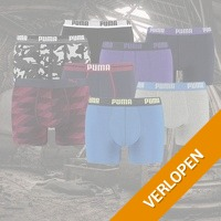 6-pack Puma boxershorts