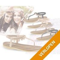 Ibiza Boho style slippers