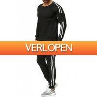 Brandeal.nl Casual: Tazzio joggingpak met rits