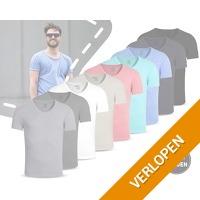 Aboron 100% katoenen T-shirts