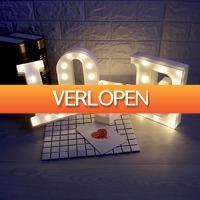 Dennisdeal.com 3: Marquee LED-licht cijfers en letters