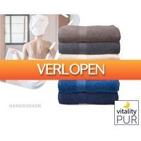 1DayFly Lifestyle: 6 handdoeken - 100% katoen