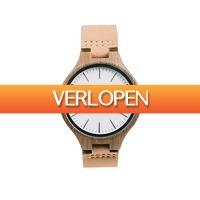 Dailywatchclub.nl: Time For Wood horloge -  Igera/Acera Leather