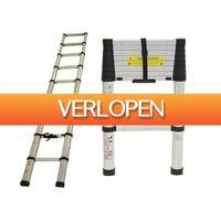 Koopjedeal.nl 2: Telescopisch uitschuifbare ladder