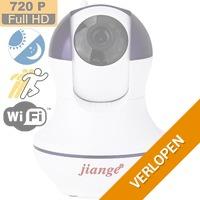 WiFi 720p IP camera met bewegingsdetectie & Night Vision