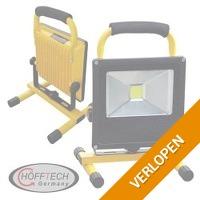 Slanke LED-bouwlamp met accu