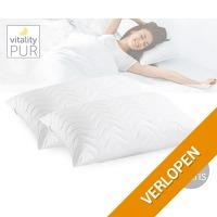 Vitality Pur Trendline Comfort hoofdkussen 1+1 gratis
