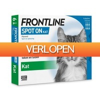 Plein.nl: Frontline Spot On Kat 6 pipetten