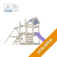 vidaXL houten speelhuis