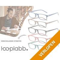 Looplabb leesbril (meerdere sterktes)