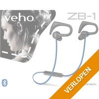 Draadloze Veho ZB-1 sport oortelefoon