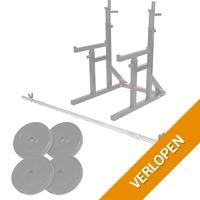 Multi squat rack 40 kg