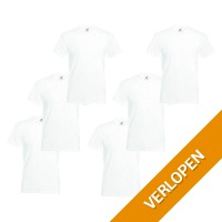 6 x Fruit of the Loom T-shirts