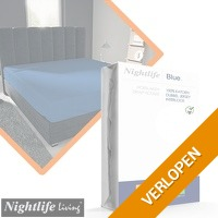 Nightlife dubbel jersey interlock hoeslakens